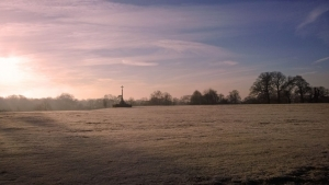 Beautiful Frosty Morning on Ampthill