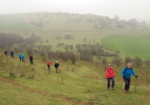 Walking Ivinghoe Beacon